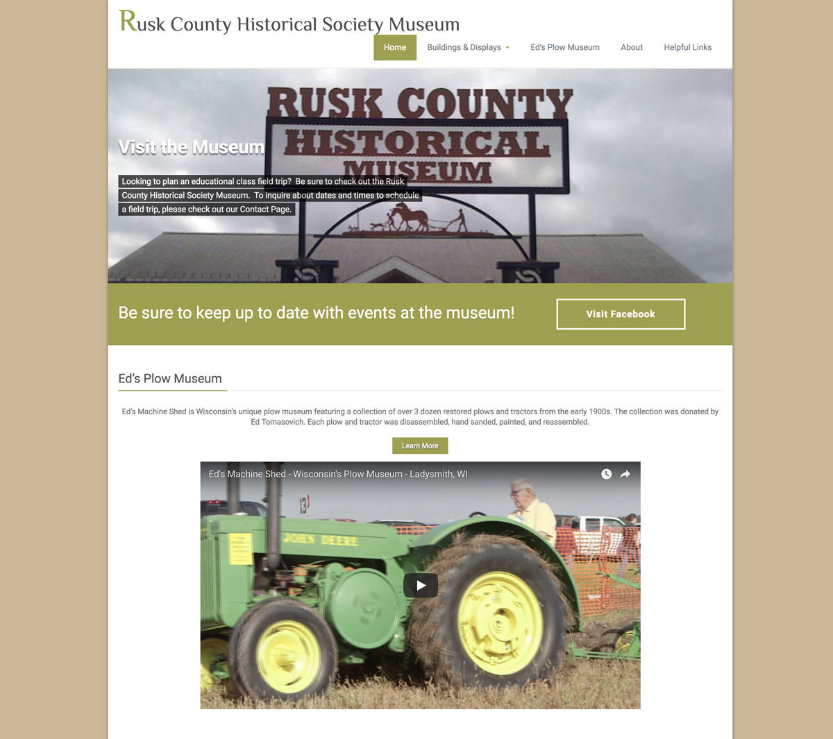 Rusk County Historical Museum